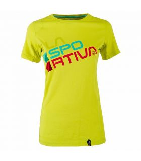 Camiseta La Sportiva Square Mujer Amarillo. Oferta y Comprar online