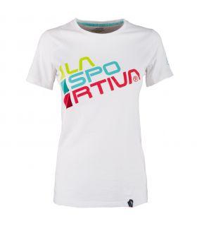Camiseta La Sportiva Square Mujer Blanco. Oferta y Comprar online