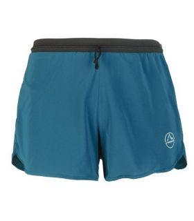 Pantalones running La Sportiva Pace Hombre Azul