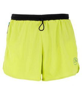 Pantalones running La Sportiva Pace Hombre Amarillo