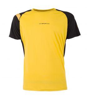 Camiseta running La Sportiva Motion Hombre Amarillo. Oferta y Comprar online
