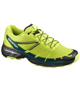 Zapatillas trail running Salomon Wings Pro 2 Hombre Lima
