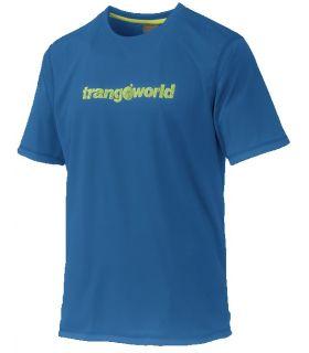 Camiseta Trangoworld Omiz Hombre Azul Verde