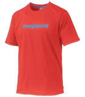 Camiseta Trangoworld Omiz Hombre Rojo Azul