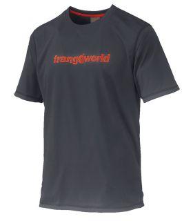 Camiseta Trangoworld Omiz Hombre Gris Rojo