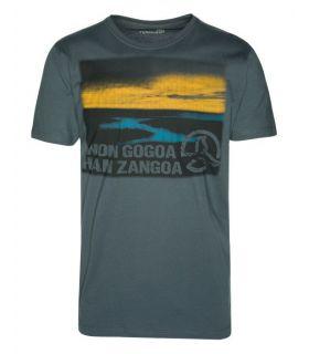 Camiseta Ternua Lottan Hombre Gris