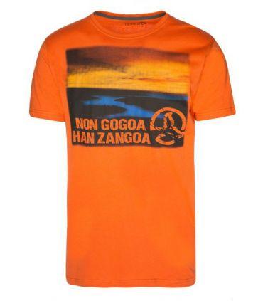 Camiseta Ternua Lottan Hombre Naranja