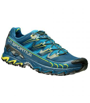 Zapatillas Trail Running La Sportiva Ultra Raptor Hombre Azul Amarillo