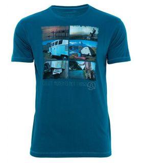 Camiseta Ternua Elber Hombre Azul