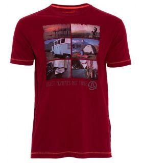 Camiseta Ternua Elber Hombre Rojo
