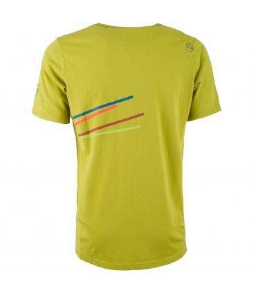 Camiseta La Sportiva Stripe 2.0 Hombre Amarillo