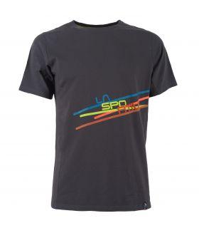 Camiseta La Sportiva Stripe 2.0 Hombre Negro
