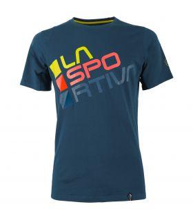 Camiseta La Sportiva Square Hombre Azul