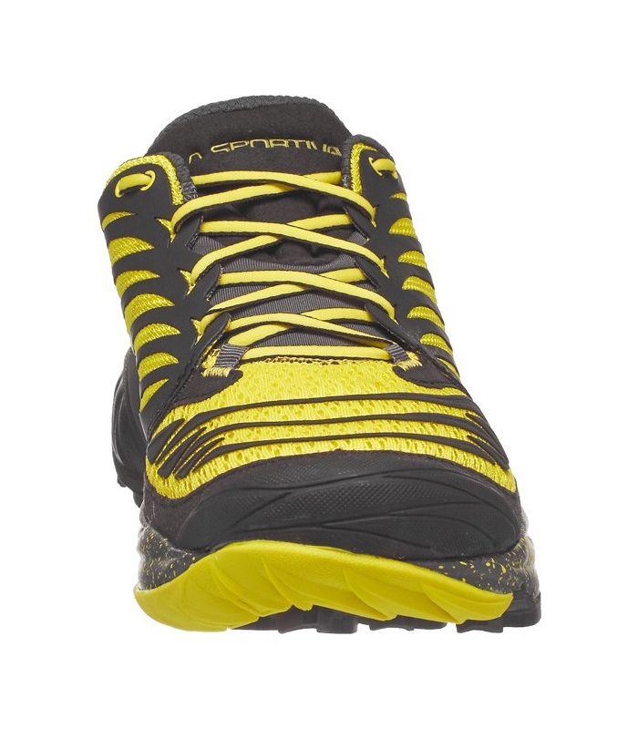 Compra online Zapatillas trail running La Sportiva Akasha Hombre Negro Azufre en oferta al mejor precio