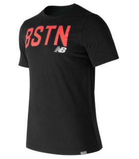 Camiseta New Balance Boston Graphic Tee Hombre