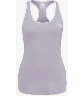 Camiseta Running The North Face Graphic Play Hard Tank Mujer Gris