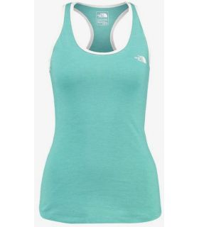 Camiseta Running The North Face Graphic Play Hard Tank Mujer Verde. Oferta y Comprar online