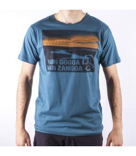 Camiseta Ternua Lottan Hombre Azul