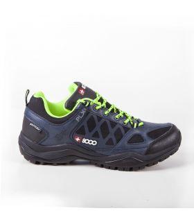 Zapatillas de trekking +8000 Tamor Hombre Azul Marino Negro
