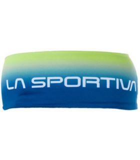 Banda para el Pelo La Sportiva Fade Headband Amarillo Azul