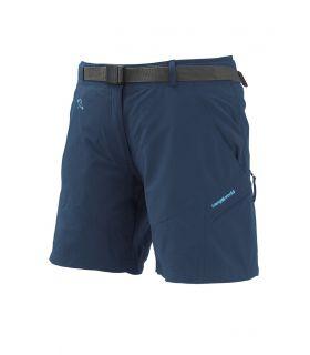 Pantalones cortos Senderismo TrangoWorld Yittu Mujer Azul