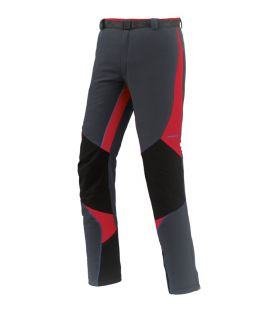 Pantalones Trekking Trangoworld Manaslu Hombre Gris Rojo