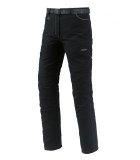 Pantalones de montaña Trangoworld Elbert Mujer Negro Morado