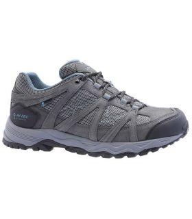 Zapatillas de Senderismo Hi-Tec Ruta Low Wp Hombre Gris