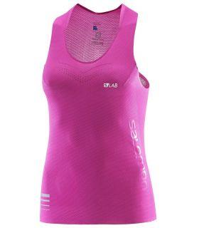 Camiseta Running Salomon S-lab Sense Tank Mujer. Oferta y Comprar online