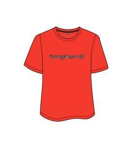 Camiseta Trangoworld Omiz Hombre Naranja