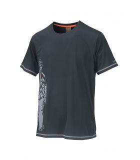 Camiseta TrangoWorld Cordov Hombre Gris
