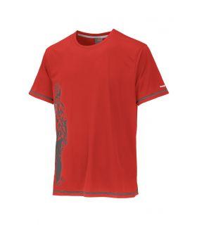 Camiseta TrangoWorld Cordov Hombre Rojo