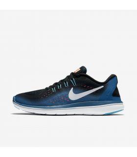 Zapatillas Running Nike Flex 2017 RN Mujer Azul