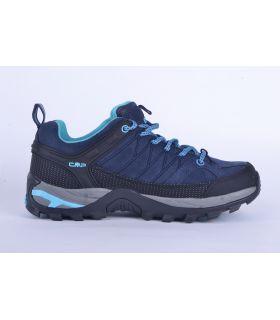 Zapatillas de trekking CMP Rigel Low Wp Mujer Azul Azul