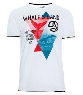 Camiseta Ternua Enel Hombre Blanco