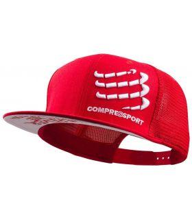 Gorra Compressport Trucker Rojo. Oferta y Comprar online
