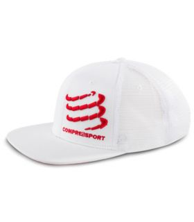 Gorra Compressport Trucker Blanco