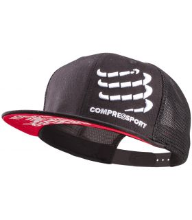 Gorra Compressport Trucker Negro