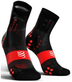 Calcetines Ciclismo Compressport Racing Socks V3.0 Ultralight Negro. Oferta y Comprar online