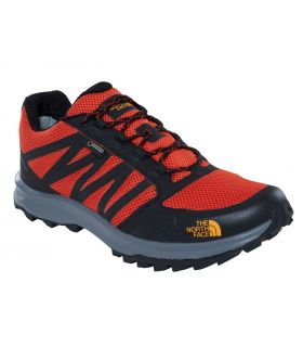 Zapatillas Senderismo The Noth Face Litewave Fastpack GoreTex Hombre Naranja