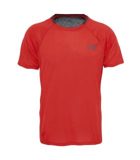 Camiseta Técnica The North Face Bether Than Naker S/S Hombre Rojo