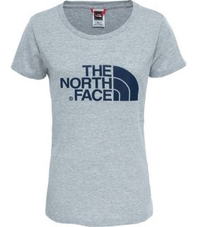 Camiseta de trekking The North Face Easy Tee Mujer Gris