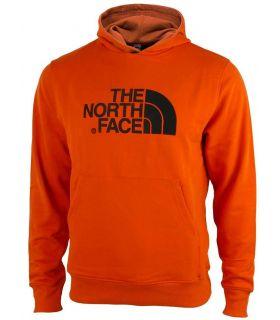 Sudadera The North Face Light Drew Peak Hombre Naranja