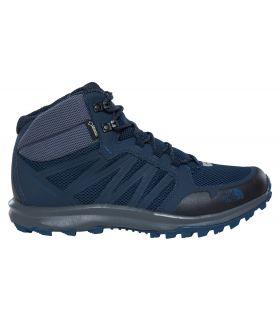 Botas de Montaña The North Face Litewave Fastpack Mid GoreTex Hombre Azul