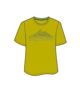 Camiseta Trangoworld Tauber Hombre Amarillo