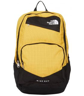 Mochila The North Face Wise Guy Amarillo Negro