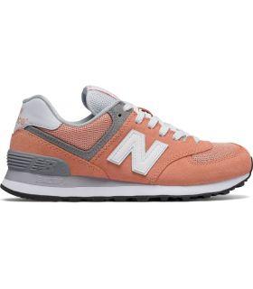 Zapatillas New Balance WL574 Coral Mujer. Oferta y Comprar online