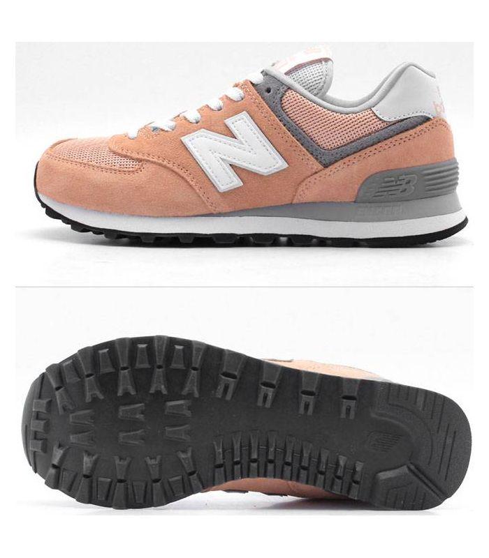 Compra online Zapatillas New Balance WL574 Mujer Coral en oferta al mejor precio