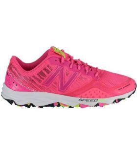 Zapatillas trail running New Balance WT690 V2 Mujer Rosa Fluor