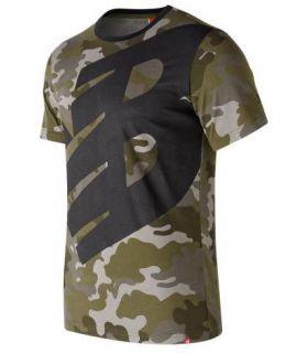 Camiseta New Balance Essentials Logo Tee Hombre